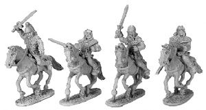 ANC20176 - Gallic Armoured Cavalry with Shields